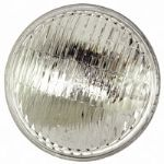 "Headlamp 7"" Sealed Beam Halogen Conversion lamp (Curved lense)"
